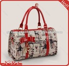 cute tote bag student style bags handbags fashion 2012