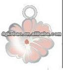China metal flower hang tag