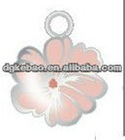 China metal flower hang tag