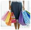 Custom Printed Paper Shopping Bag (WF-17064)