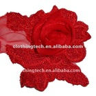 red silk flowers artificial for clothes