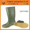 Steel toe PVC rain boot