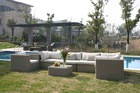 leisure furniture which is made of vine