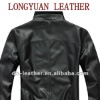 2012 New Slim Fit Men Leather Jacket
