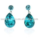 Blue Ocean Tear Drop Earrings