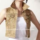 ladies' denim waistcoat 2011