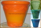 Biodegradable Glazed PU Flower pot