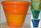 Biodegradable Glazed PU Flower pot