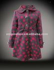 2012 New Popular Hot Sell Fashion Ladies Long Coat Design