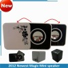 2012 Newest Mini Multimedia speaker cube with FM radio
