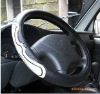 black PP rubber steering wheel covers