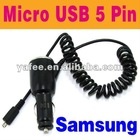 Car Charger For Samsung i9000 Galaxy S 4G S2 SII i9100 O-791