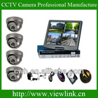 700TVL CCTV H.264 DVR 4 x48 IR Waterproof Cameras Security Surveillance System with 4CH Video/Audio and Full D1