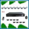 8 channel DVR kits