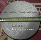 20um sintered mesh filter slice