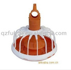 Plastic automatic broiler feeding system