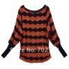 plus size korean batwing women fashion sweater