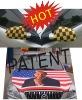 custom side wing flag