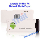Mini Google Android 4.0 TV Box Player WIFI PC Allwinner A8 4GB DDR3 AK-212 Mini PC with 2.4G Mini Keyboard with Air Mouse