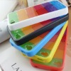 Colorful Silicone phone case for iphone4/4s