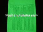 photoluminescent vinyl film/glow green vinyl film/luminescent vinyl film