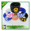 Colorful slap silicone wrist band