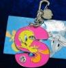 Custom shaped metal keychain