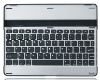 Slim Aluminum Case Bluetooth Keyboard Stand for Samsung GALAXY Tab 10.1