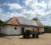 North America rooftop 3kw,4kw,5kw,6kw grid tie solar power system for home use
