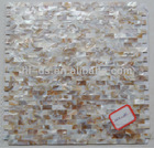river shell mosaic wall tile