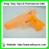 16.5cm classics style transparent plastic water gun