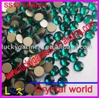 flat back rhinestone DIY nailart decoration crystal ss12 3.2mm emerald