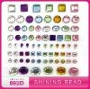 Mix color mix size round rhinestone sticker