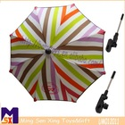 clip on umbrellas for stroller;children parasol with clamp