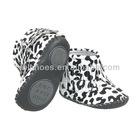 Littlebluelamb soft leahter baby shoes BB-C21011-BW