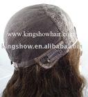 100% mongolian hair skin top jewish wigs
