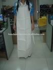 pvc apron /100% Polyester apron /LDPE apron