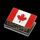 Hot promotional Vancouver Metal fridge magnet making machine
