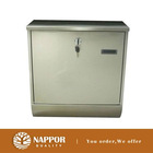 UK stock Rust Proofing Lockable Steel Gloss Mailbox Postbox BN