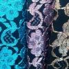gold metallic lace