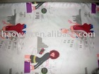 Printed Pongee Fabric