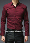 classic men red shirts for party wear