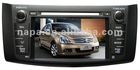 CAR AUDIO DVD GPS NAVIGATION SYSTEM FOR 2012 BLUEBIRD SYLPHY WITH 7 INCH SCREEN/BLUETOOTH/REARVIEW CAMERA/SD/USB/IPOD
