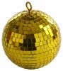 20'' Disco Golden Mirror Ball
