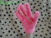 knitted feather yarn magic gloves