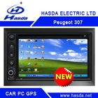 Peugeot 307 special Car PC player /car gps ,2 Din Car PC player , windows XP system