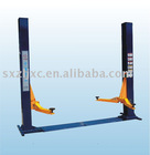 Double-cylinder hydraulic lift