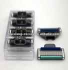 M3 High quality ASR stainless steel Shaving razor blades with 4pcs packing in a cartridge