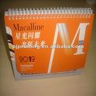 custom yearly desk calendar printing