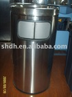 stainless steel wastebin